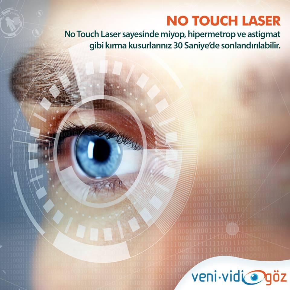 No Touch Lazer Yan Etkileri