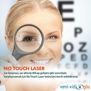 No Touch Laser Göz Lazer Tedavisi