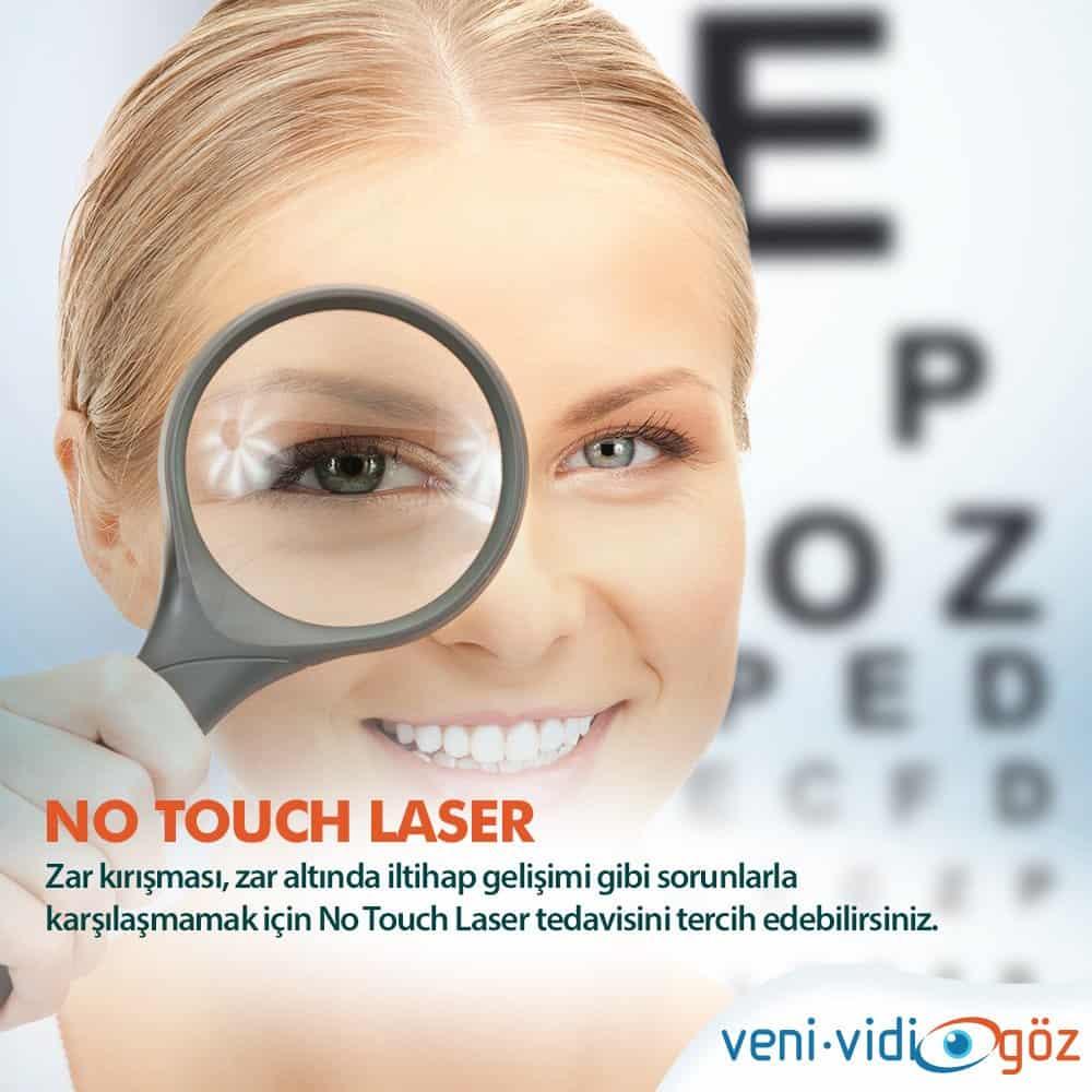 Göz Lazer Tedavisi (No Touch Laser)