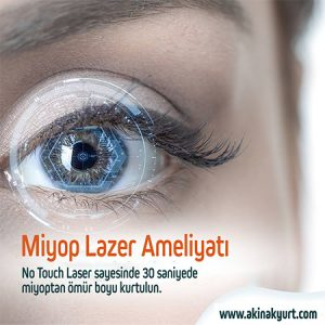 Miyop Lazer Ameliyatı