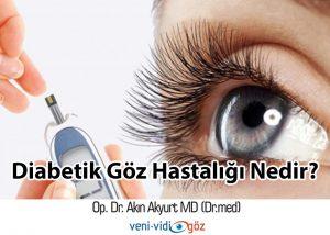 Diabetik Göz Hastalığı Nedir