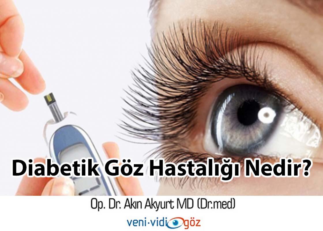 Diabetik Göz Hastalığı Nedir ?