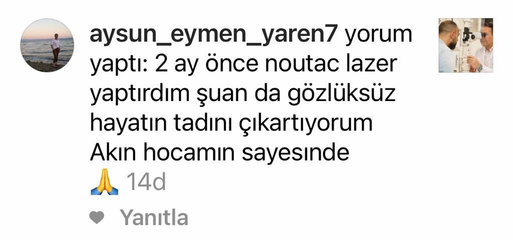 Aysun Eymen Yaren Hasta Yorumu